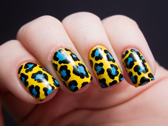 30 cool leopard nail art designs to try 12 prinsesfo Choice Image