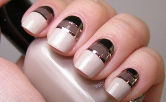 30 striped nail designs and looks to try with 12 prinsesfo Image collections