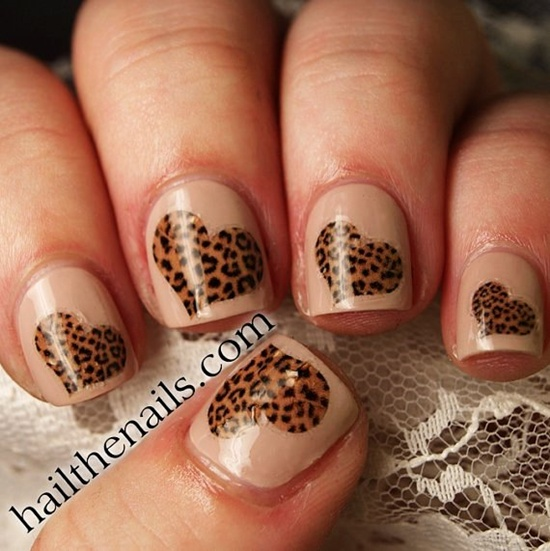 30 cool leopard nail art designs to try 15 prinsesfo Choice Image