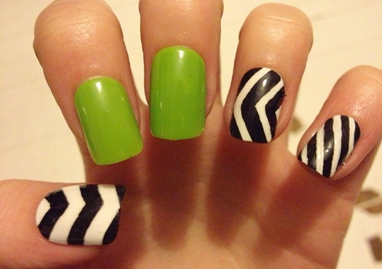 30 striped nail designs and looks to try with 15 prinsesfo Image collections