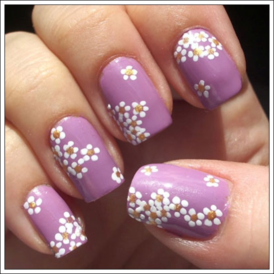... 17 ... - 25 Beautiful Examples Of Spring Nail Art Designs