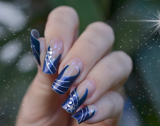 ... 22 ... - 30 Beautiful Eamples Of Winter Nail Art