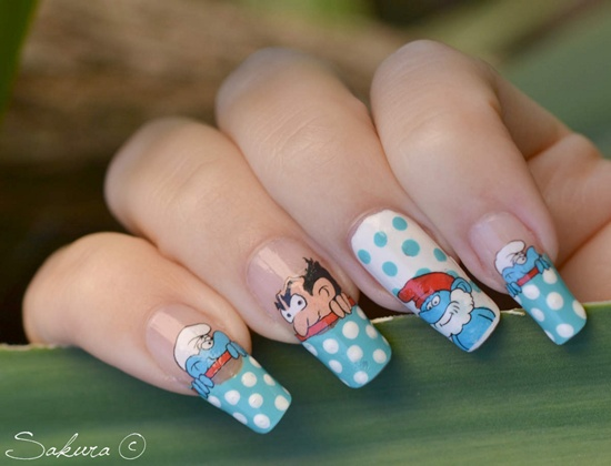 30 beautiful eamples of winter nail art 23 prinsesfo Image collections