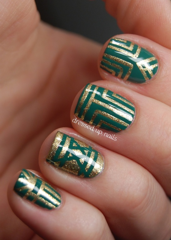 30 striped nail designs and looks to try with 24 prinsesfo Gallery