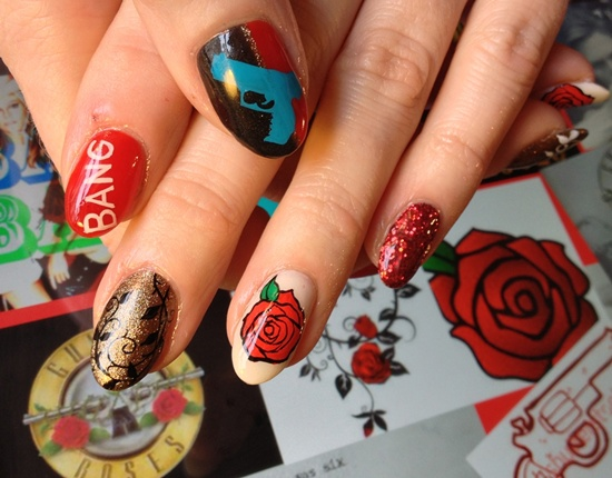 - 30 Flower Nail Art Designs For Inspiration: With Tutorial