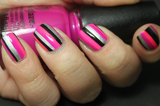 We will take a look at striping nail art today - 30 Striped Nail Designs And Looks To Try With