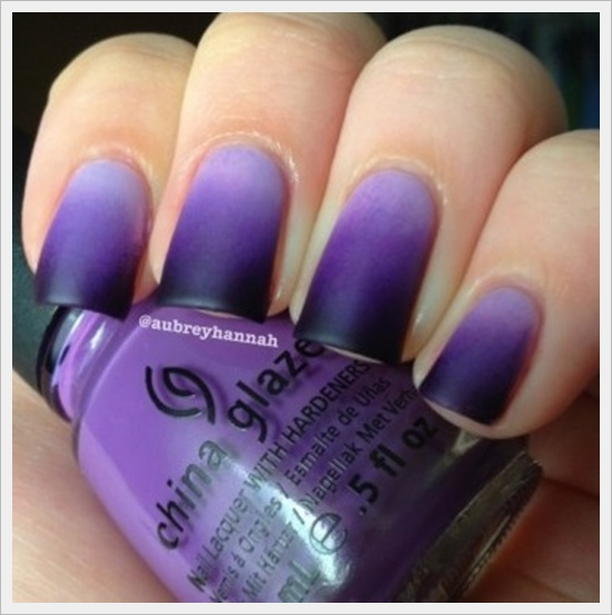 Latest nail art tips to try this summer first thing to do to get started on this is to apply the lighter color on to your nails apply two coats if you feel it is required prinsesfo Gallery