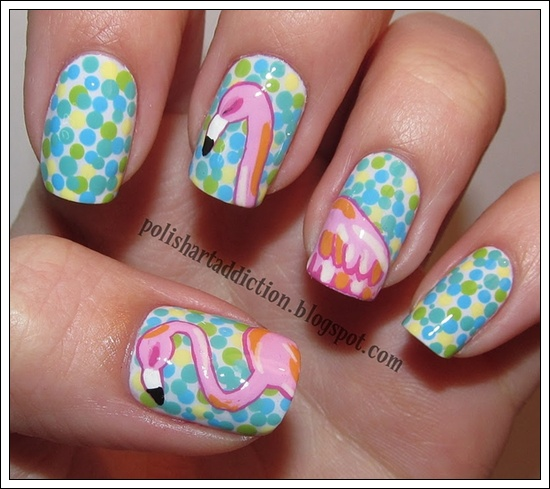 25 Beautiful Examples of Spring Nail Art Designs