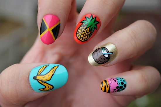 30 tasty fruit nail art designs fruit nail art 5 prinsesfo Images