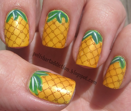 30 tasty fruit nail art designs fruit nail art 6 prinsesfo Images