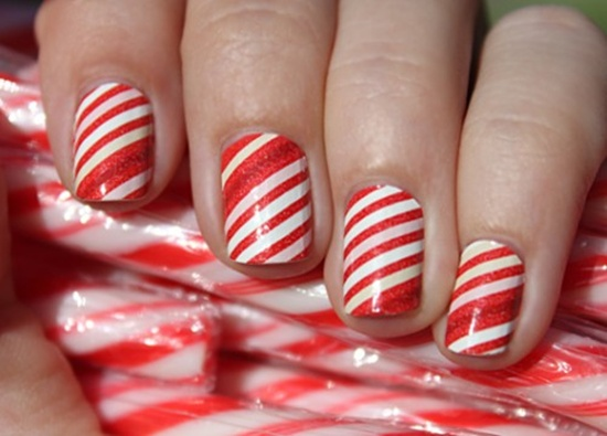 40 classic red nail art designs red nail art 22 prinsesfo Image collections