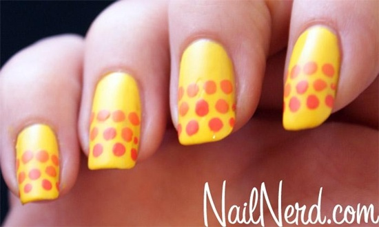 40 yellow nail art ideas to try on yellow nail art 21 prinsesfo Image collections
