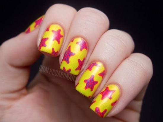 40 yellow nail art ideas to try on yellow nail art 28 prinsesfo Image collections