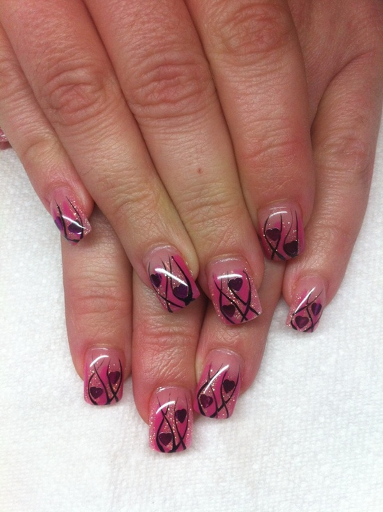 Gel Nail Design Ideas 25 best ideas about gel nail art on pinterest gel nail designs gel nail color ideas and sparkle gel nails Uv Gel Nail 11