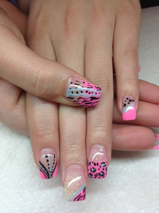 uv gel nail 6 - Gel Nail Design Ideas