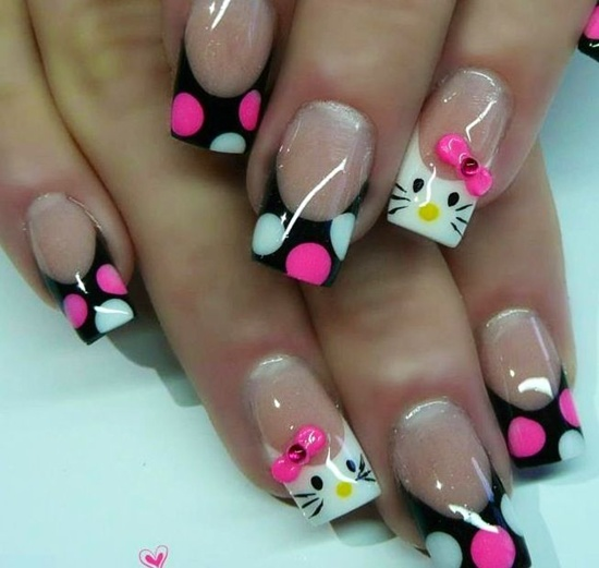 20 photos of acrylic nails to enhance manicure creativity acrylic nail art 8 prinsesfo Choice Image