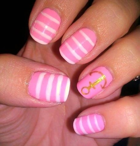 30 simple and easy nail art ideas easy nail art 1 prinsesfo Images
