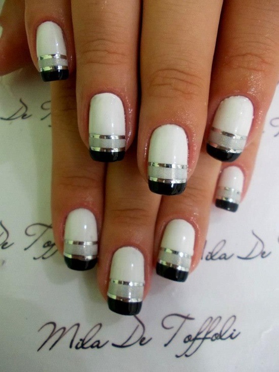 30 simple and easy nail art ideas easy nail art 11 prinsesfo Choice Image