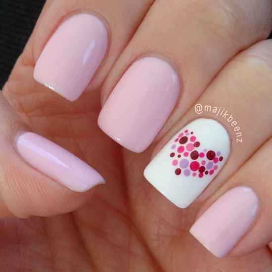 Simple Nail Art Designs Gallery: 30 Simple And Easy Nail Art Ideas