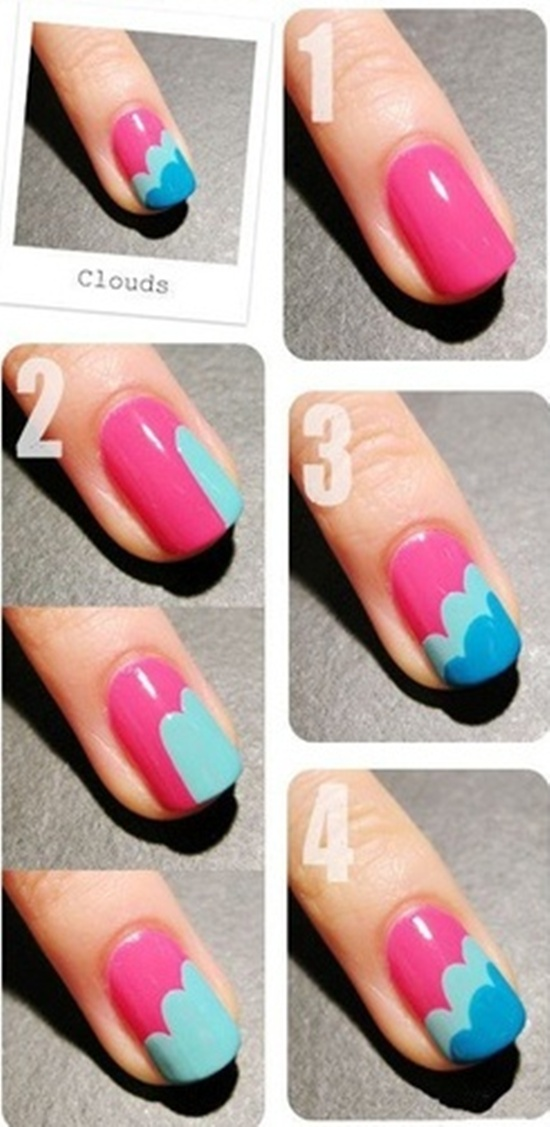 30 simple and easy nail art ideas easy nail art prinsesfo Choice Image