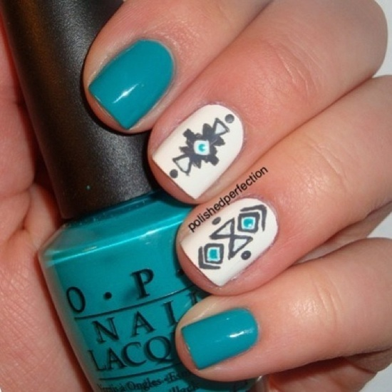 fun nail art (10) - 30 Examples Of Funny Nail Art Designs