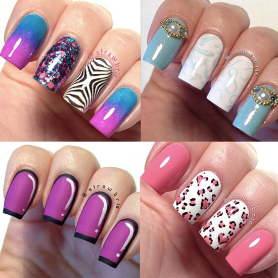 30 examples of funny nail art designs fun nail art 15 prinsesfo Image collections