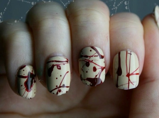 fun nail art (21) - 30 Examples Of Funny Nail Art Designs