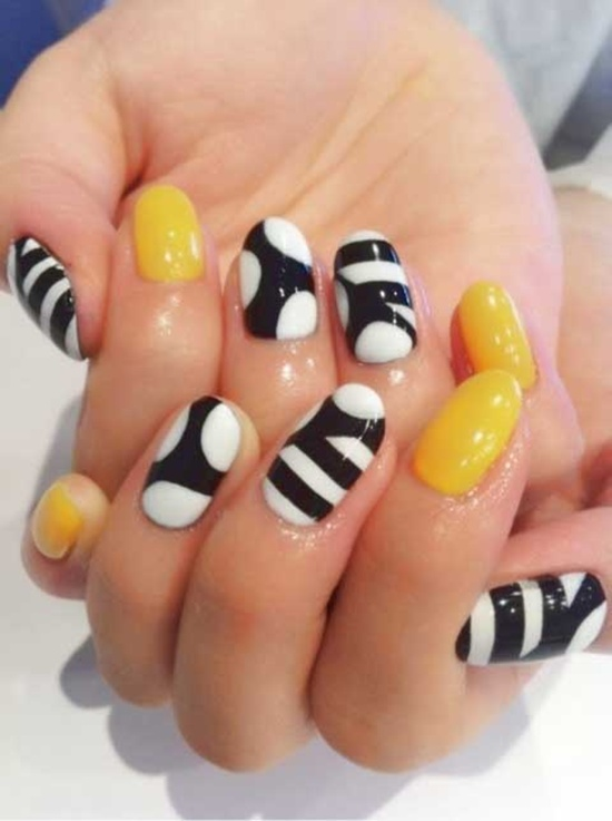 fun nail art (28) - 30 Examples Of Funny Nail Art Designs
