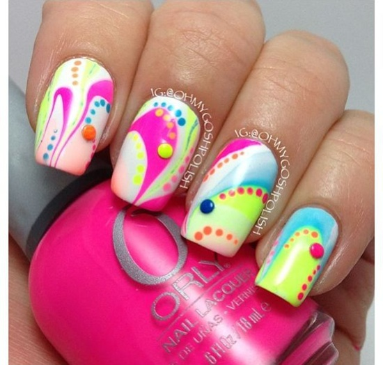 fun nail art (4) - 30 Examples Of Funny Nail Art Designs