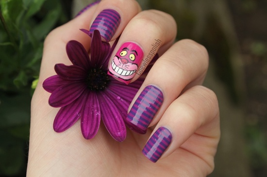 geeky nail art (1) - 30 Examples Of Geeky Nail Art Designs