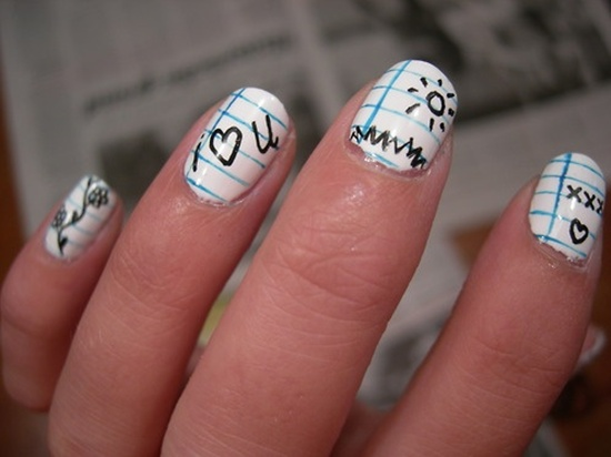 geeky nail art (11) - 30 Examples Of Geeky Nail Art Designs