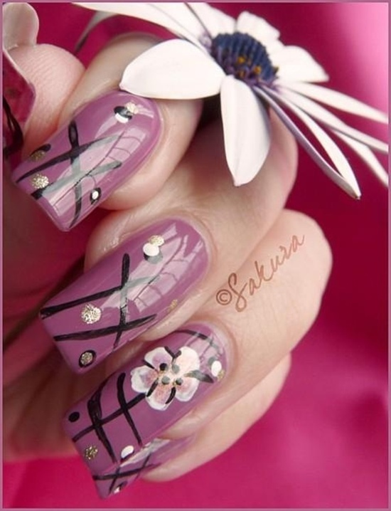 40 examples of latest trends in nail art for the current year nail art trend 2013 12 prinsesfo Images