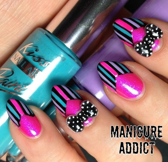 40 examples of latest trends in nail art for the current year nail art trend 2013 17 prinsesfo Images