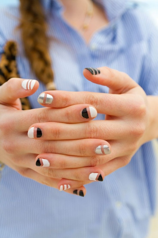 40 examples of latest trends in nail art for the current year nail art trend 2013 2 prinsesfo Choice Image