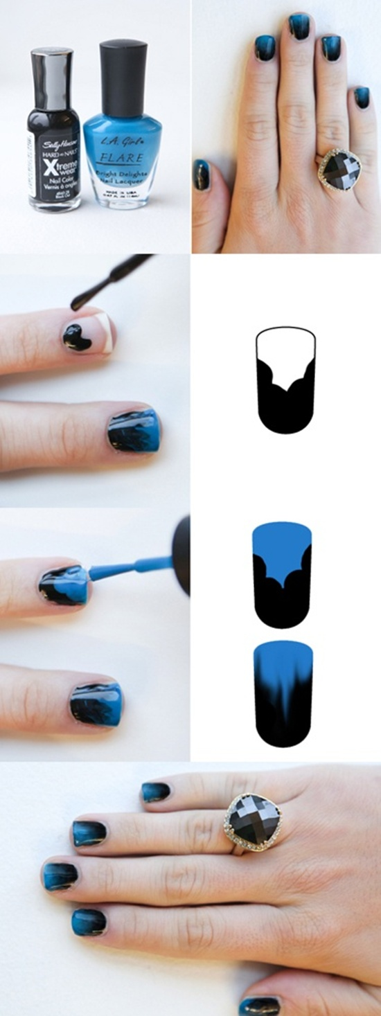 40 examples of latest trends in nail art for the current year nail art trend 2013 3 prinsesfo Images