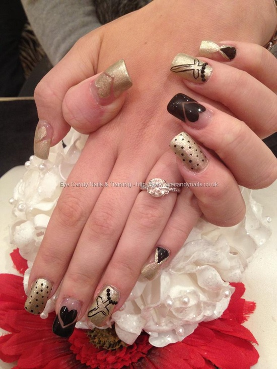 40 examples of latest trends in nail art for the current year nail art trend 2013 31 prinsesfo Images