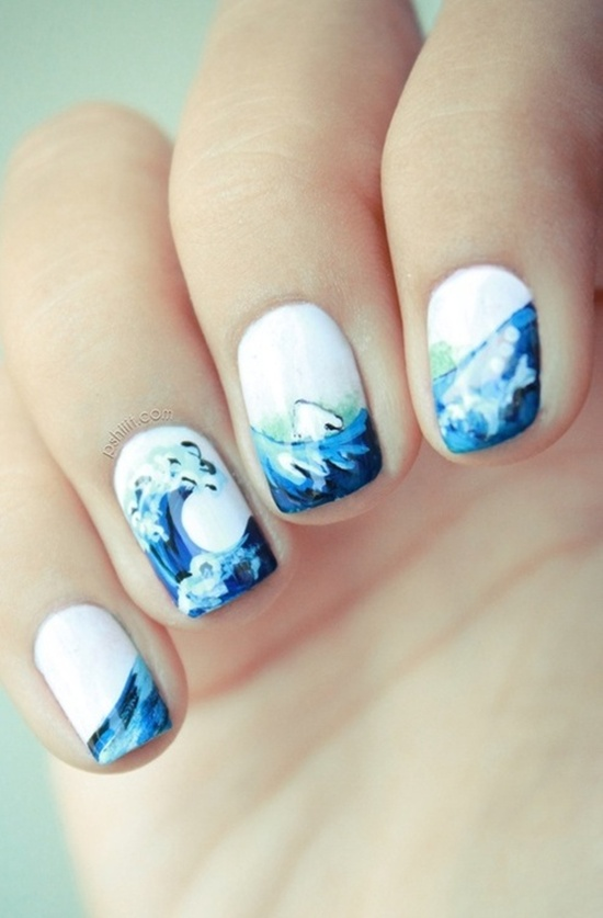 40 examples of latest trends in nail art for the current year nail art trend 2013 prinsesfo Choice Image