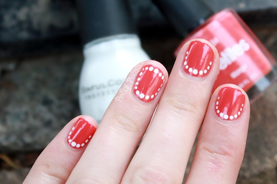 short nail art (22) - 101 Beautiful Short Nail Art Ideas