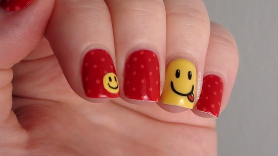 30 tasty fruit nail art designs 101 beautiful short nail art ideas prinsesfo Image collections