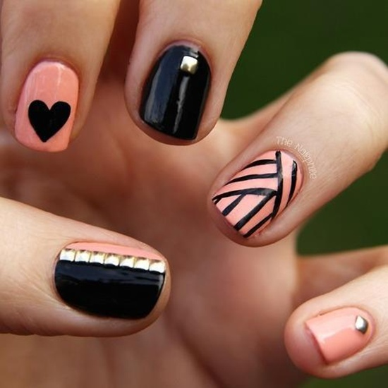 101 beautiful short nail art ideas short nail art 7 prinsesfo Gallery