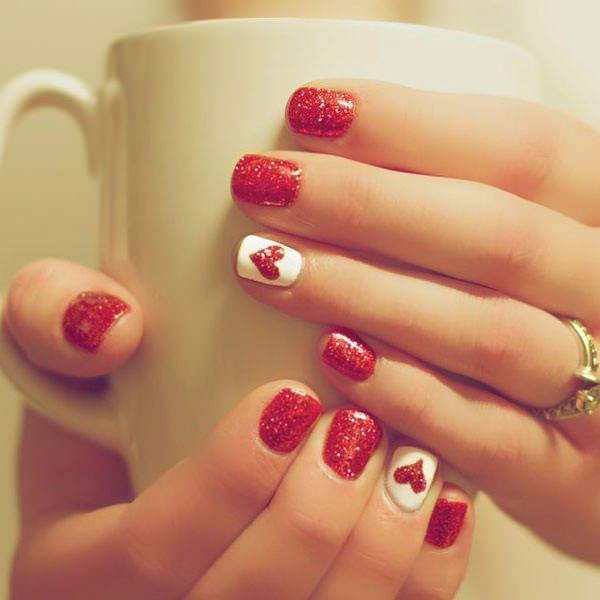 easy at home nail designs for short nails. short nails 39 101 Beautiful Short Nail Art Ideas