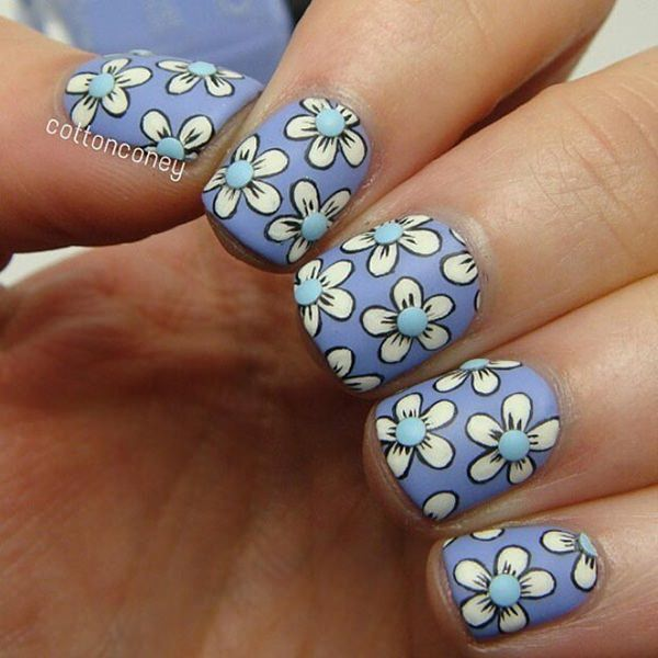 101 beautiful short nail art ideas short nails 70 prinsesfo Choice Image