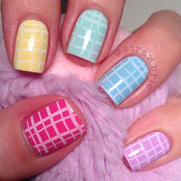 101 beautiful short nail art ideas short nails 76 prinsesfo Choice Image