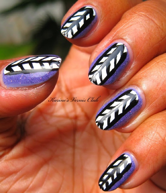30 trendy tribal nail art ideas tribal nail art 8 prinsesfo Choice Image
