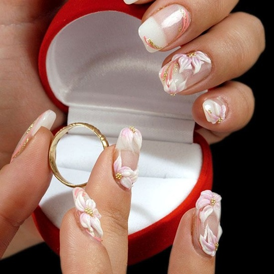 wedding nails (10)