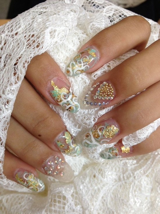 wedding nails (13)