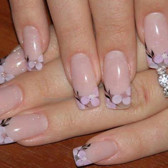 30 ultimate wedding nail art designs. Black Bedroom Furniture Sets. Home Design Ideas