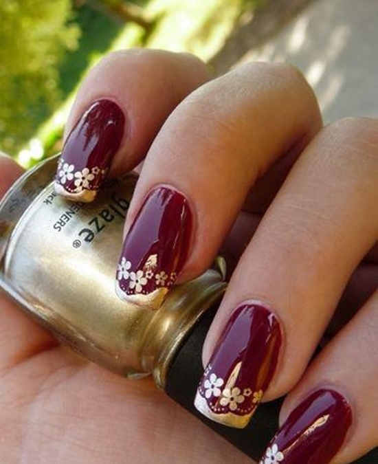 wedding nails (22) - 30 Ultimate Wedding Nail Art Designs