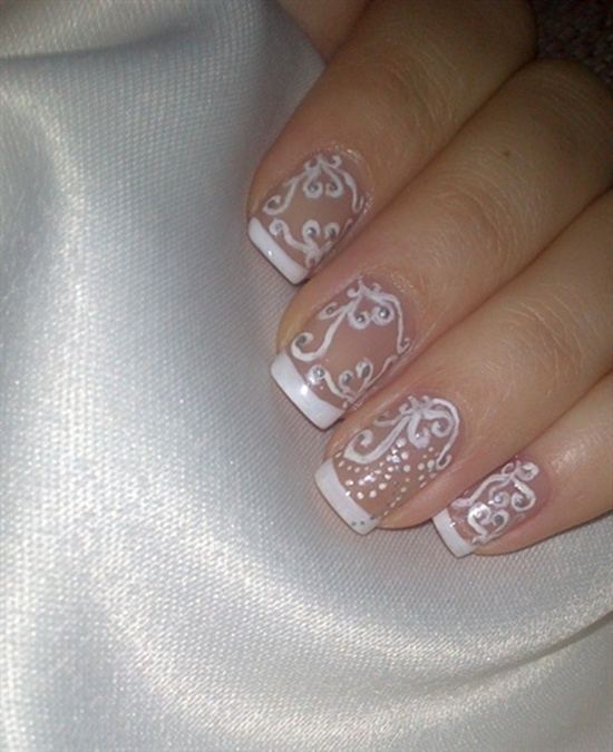 wedding nails 5
