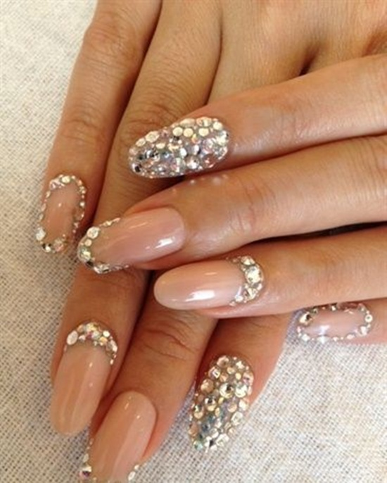 Perfect Wedding Acrylic Nail Designs 550 x 686 · 113 kB · jpeg